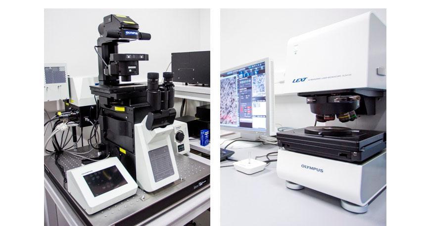 Mikroskopy konfokalne (Olympus)