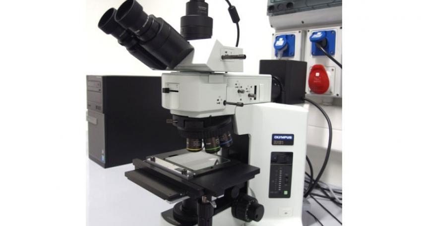 Mikroskop polaryzacyjny (Olympus BX-52)