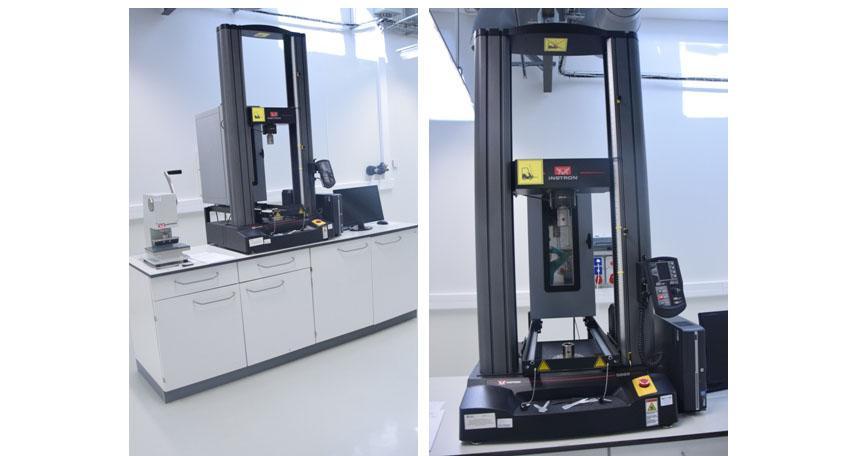 Maszyna wytrzymałościowa o maksymalnej obciążalności 50 kN – Instron 5969